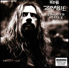ROB ZOMBIE - EDUCATED HORSES CD ~ FOXY FOXY~SCORPION SLEEPS ++++ ( WHITE ) *NEW*