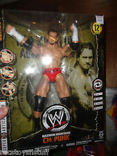 WWE C M PUNK MAXIMUM AGGRESSION 12 INCH POSEABLE FIGURE MIB