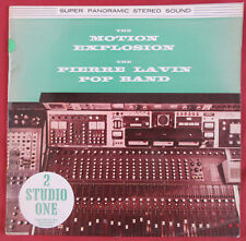 PIERRE LAVIN POP BAND  THE MOTION EXPLOSION LP ORIG  UK  PROMO