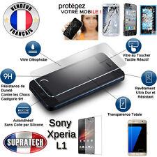 Protection d'Ecran en Verre Trempé Contre les Chocs pour Sony Xperia L1