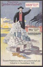 11634 AK Deutsche Landwirtschaft Produktions Werte Industrie Wahl Propaganda