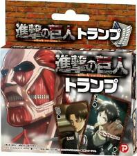 Attack on Titan playing card game Japan import