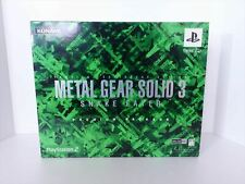 PlayStation2 video game METAL GEAR SOLID 3 SNAKE EATER PREMIUM PACKAGE used