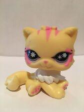 Littlest Pet Shop Lps ~ ~ Gato Persa Amarillo # 878 ~ MULTI COMPRA DESCUENTO ofrece