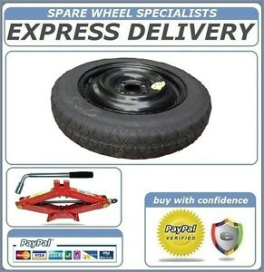 """15"""" SPACE SAVER SPARE WHEEL + TOOL KIT FITS CHEVROLET SPARK (2010-PRESENT DAY)"""