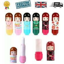 Set of 6 Kimono Doll Lip Balm Gloss / Lipstick - Children's Kids Girls Make up