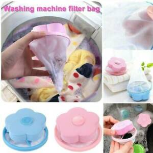 Washing Machine Floating Pet Fur Catcher Ball Laundry Hair Lint Remover Tools AU