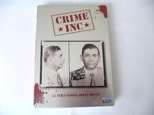 """CRIME INC""""LA VERA STORIA DELLA MAFIA-Nr 2 DVD ib BOX METALLICO"""