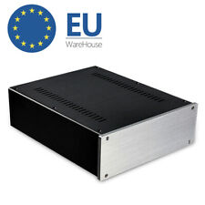 HIFI Aluminum Chassis DIY Case Decoder Enclosure Amplifier DAC Audio Amp Cabinet