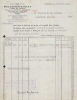 FT0885 France 1952 - Roubaix - Fourniez-Gadenne - Laines Et Déchets - Invoice