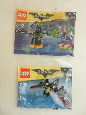 BNIP Lego Batman Movie Polybag 30523 Joker Battle & 30524 Mini Batwing Exclusive