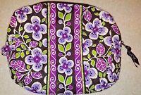 Vera Bradley Petal Plum Large Cosmetic Bag