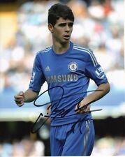 Chelsea FC Oscar Autographed Signed 8x10 Photo COA H