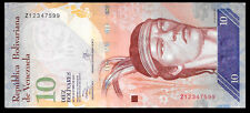 Venezuela 10 Bolivares 2013 Series Z8 REPLACEMENT NOTE @ Crisp UNC