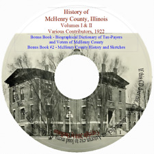 History of McHenry County, Illinois Volumes 1 & 2