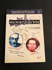[12703-B54] Oulipo - Queneau Perec - Machines à écrire - CD-ROM