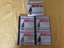 Maximum 80's, Originalerstauflage,Limitierte 4CD Box NL(2000)Neuwertig,Sehr Rar!