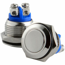UNIVERSAL Replacement Momentary Push Button switch N.O. normally open DC AC 12v
