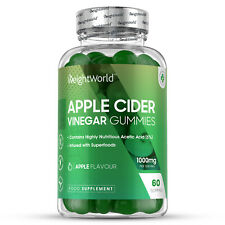 High Strength Apple Cider Vinegar 60 Gummies | Weight Loss & Detox | Vitamin B12