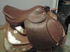 "16.5"" English Flex Rider Saddle. Jumper, Jumping, Hunt Seat"