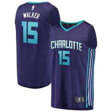 Charlotte Hornets #15 Kemba Walker NEWCity Edition Swingman Jersey