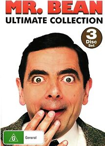 Mr Bean Ultimate Collection Volumes 1-4, NEW SEALED AUSTRALIAN RELEASE