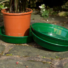 Cestas, macetas y cajas de jardín de plástico de color principal verde