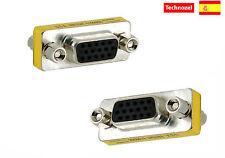 Conector Adaptador VGA Hembra a VGA Hembra VGA f to f Connector