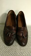Men's Earth Shoe10.5M leather, hand sewn, one tassel missing, quality details