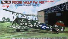 Kora Hi-Kit 1/72 Modèle Kit 72051 Focke-Wulf Fw-44D capturé par les troupes américaines