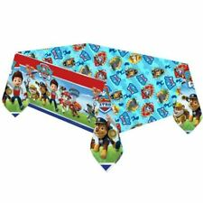 Paw Patrol Tablecover Happy Birthday Party Blue Boys Table Cover 1.2m x 1.8m