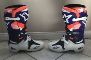 *ALPINESTARS TECH 10 LIMITED EDITION INDIANAPOLIS BOOTS SZ 12 *BRAND NEW*
