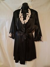 """JONES NEW YORK Short BLACK LACE NIGHTGOWN-38"""" Bust Size 6-Small"""