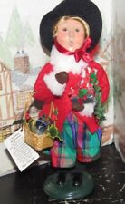 Byers Choice Christmas Illustrations Victoria 2003 w Hang Tag *