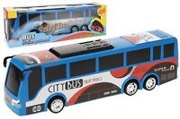 Friction Powered Toy Bus 35cm Long Bus With Bright Coloures