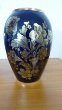 KPM Echt Cobalt Handarbeit Vase ca. 13,5 cm -sehr schön-