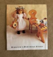 Kirsten's birthday Story photo booklet Pleasant Company American Girl doll