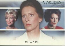 Star Trek Quotable Movies Bridge Crew Transition Chase Card T8 Chapel