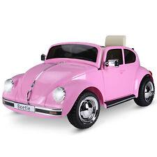 Kinderauto von Volkswagen Beetle Kinderfahrzeug Elektroauto mit MP3 Licht Musik