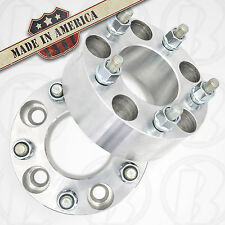 """2 USA MADE 5 x 5"""" (127mm) To 5 x 4.75"""" Wheel Adapters 2"""" Spacers 14mm 1.5 studs"""