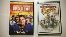 Lot of 2 DVDs 2005 (remakes) Bad News Bears , Full Screen, NEW, The Longest Yard