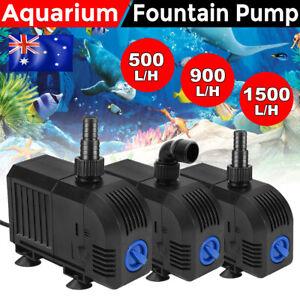Submersible Water Pond Pump Electric Aquarium Fountain Fish Tank Filter Marine