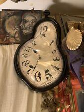 Melting Clocks Wall Clock Dali Painting Novelty