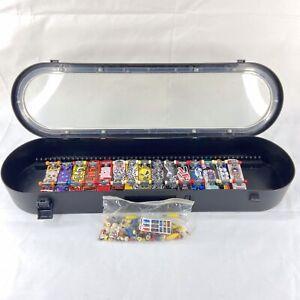 Tech Deck Lot of 15 Vintage Fingerboard Skateboard Collection w/ Case & Parts