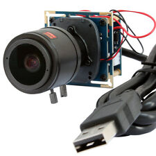 2MP 1080p CMOS IR Cut Vedio Camera Webcam Board Module 2.8-12mm Varifocal Lens