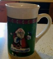 Royal Norfolk Santa Christmas Coffee Mug Cup Tall
