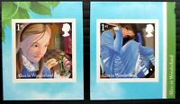 GB 2015 Self-Adhesive Royal Mail Alice in Wonderland SG3668-3669 NT550