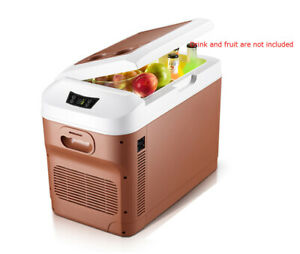 20L Portable Car Refrigerator Cooler & Warmer DC 12/24V & Home 220V
