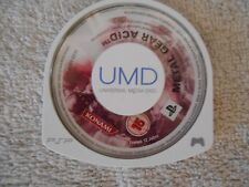 Metal Gear Acid SONY PSP Playstation Portable UMD Disc Konami Spiel Game 1A GUT
