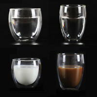 Double Wall Glassware Glass Cup CoolTouch-Adiabatic Hot Cold Coffee Beer Tea Mug